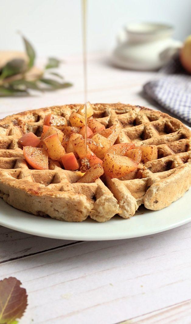apple belgian waffles recipe vegan gluten free apple pie waffles in a belgian waffle maker recipe with apple pie filling