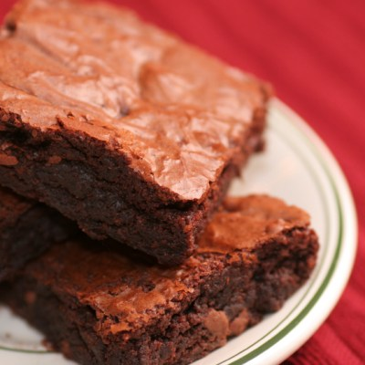 Ultimate Fudgy Brownies for Chocolate Monday