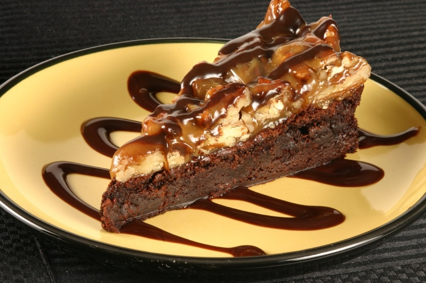 Turtle Brownie Cheesecake Bars For Chocolate Monday The
