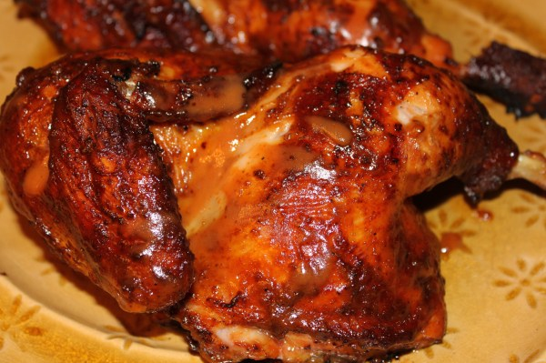 Barbecued Tandoori Chicken with Saffron Rice • The ...