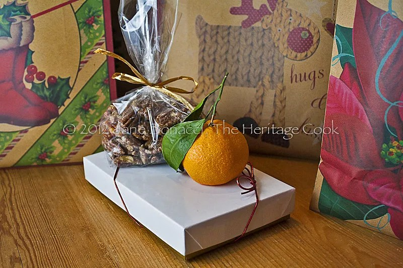 Goodies ready to go in the bags for delivery