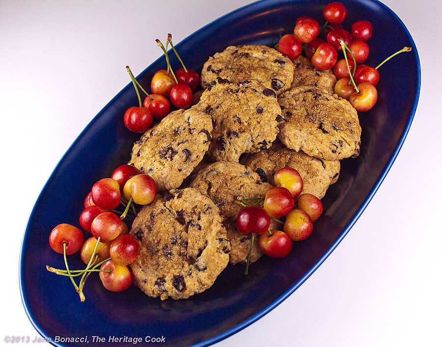 Chocolate Chip-Cherry Scones