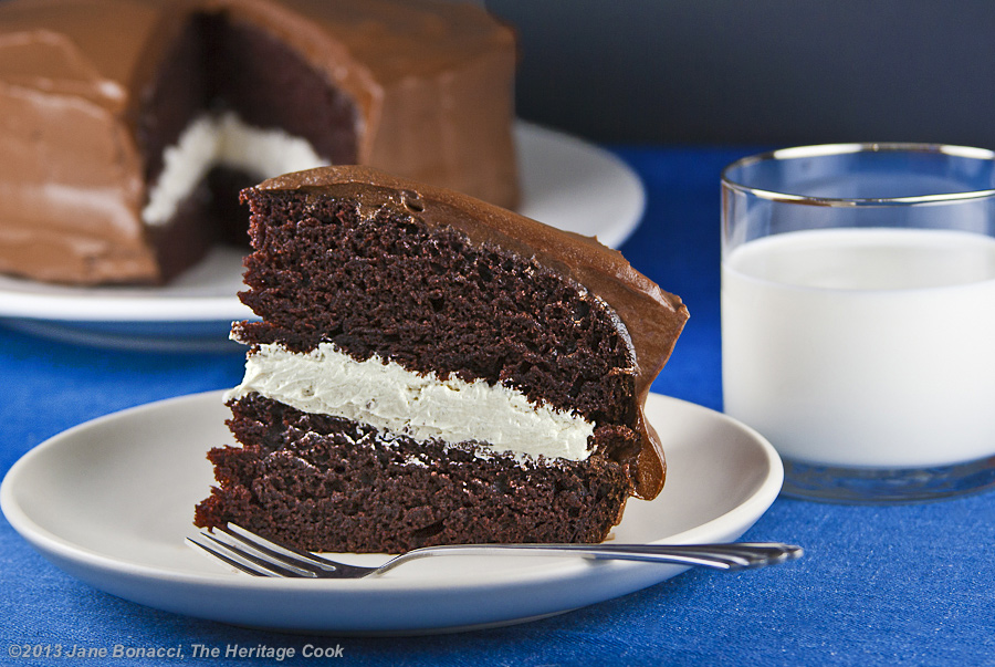 Homemade Little Debbie Chocolate Layer Cake - The Heritage Cook 2013