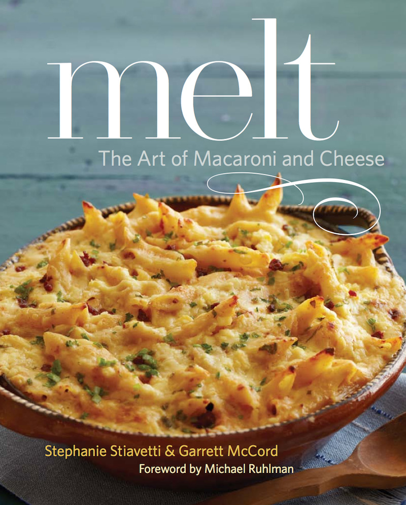 The cover of Melt: The Art of Macaroni and Cheese
