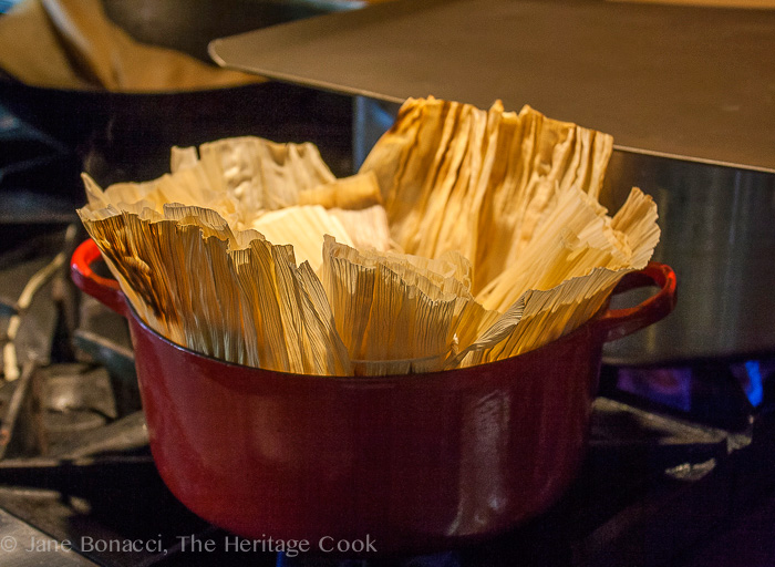 Chocolate Tamales; The Heritage Cook 2013