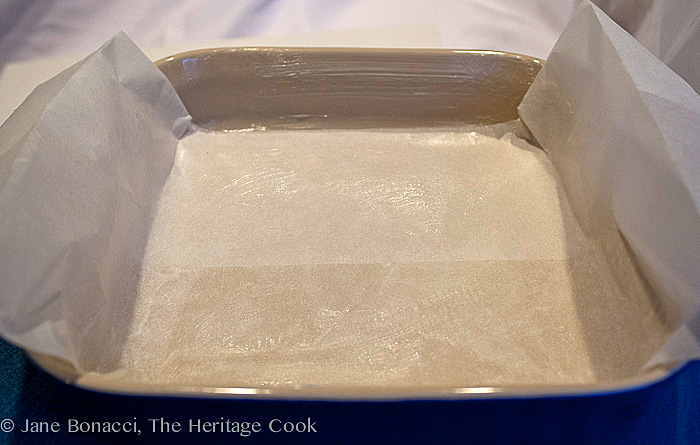 Pecan Pie Bars; 2013 Jane Bonacci, The Heritage Cook