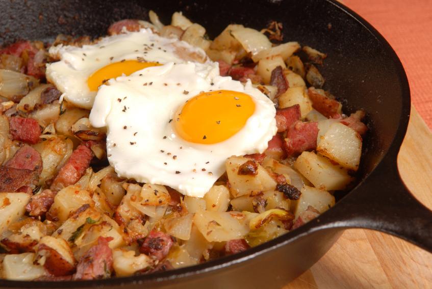 Southwestern Breakfast Hash FN #ComfortFoodFest; 2014 Jane Bonacci, The Heritage Cook