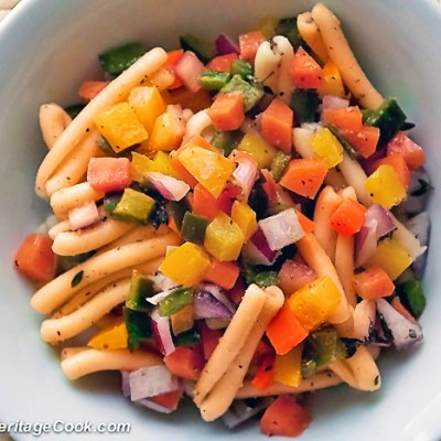 Pasta Salad with Fresh Lemon Vinaigrette