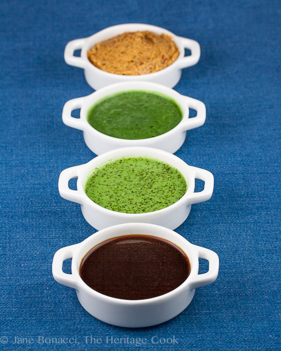 4 Sauces for BBQ Foods; 2014 Jane Bonacci, The Heritage Cook