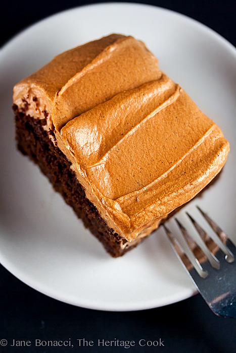Chocolate Pumpkin Cake; 2014 Jane Bonacci, The Heritage Cook