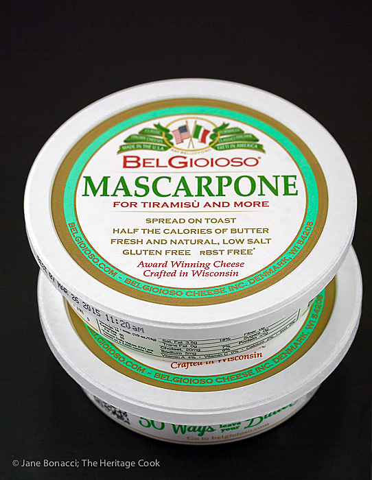 Mascarpone cheese is Italian cream cheese, rich, smooth and lovely