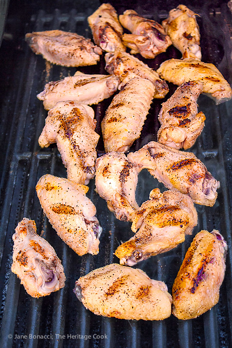 Chicken Wings on the Grill--BBQ
