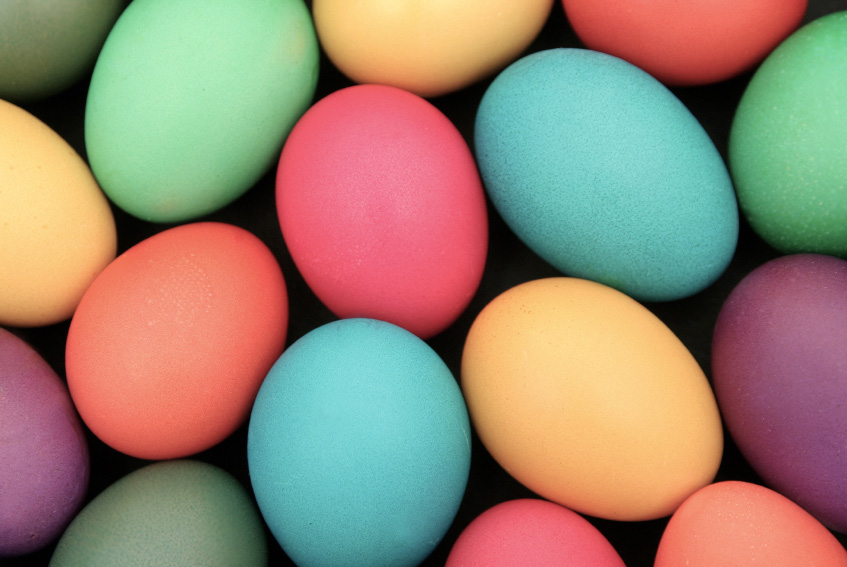 Making Perfect Easter Eggs & Deviling Them; 2015 Jane Bonacci, The Heritage Cook