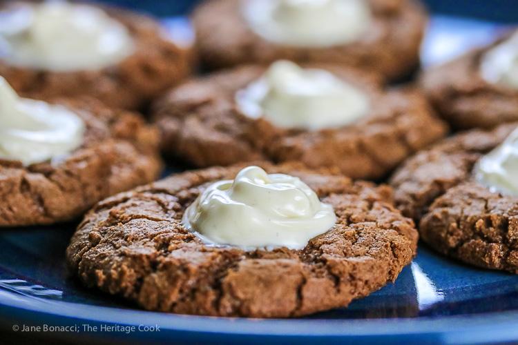 White Chocolate Ginger Daisies; 2015 Jane Bonacci, The Heritage Cook