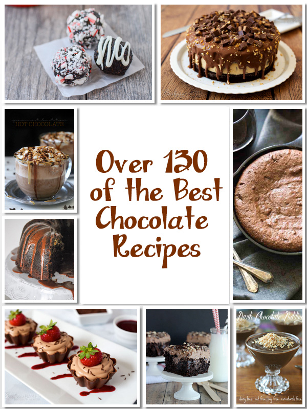 Over 130 of the Best Chocolate Recipes to Kick Off 2016; Jane Bonacci, The Heritage Cook