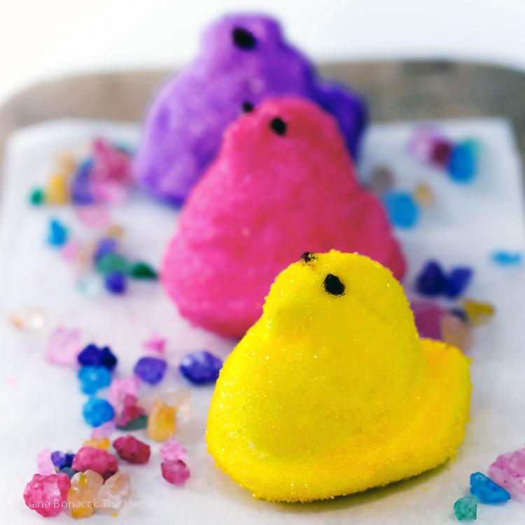 Homemade Marshmallow Peeps For Easter Gluten Free The
