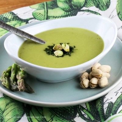 Dairy-Free Cream of Asparagus Soup (Gluten-Free)
