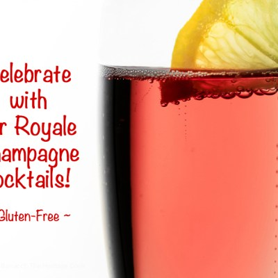 Celebration Kir Royale Cocktails and KitchenAid Giveaway!