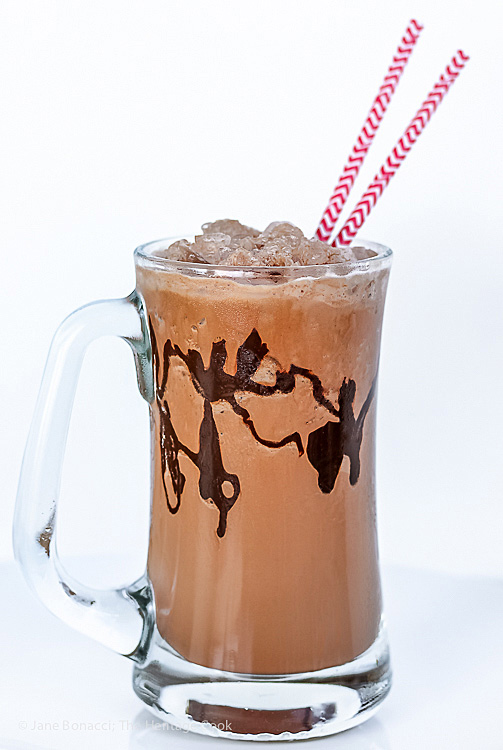 Frozen Hot Chocolate ©2019 Jane Bonacci, The Heritage Cook