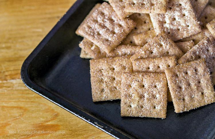 Nectarine and Berry Cinnamon Crisps with Gratify Foods, Gluten Free Recipe; © 2016 Jane Bonacci, The Heritage Cook
