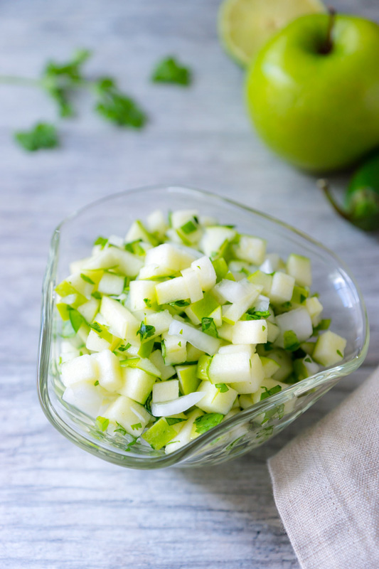 Apple Pico de Gallo © 2016 Rose McAvoy. All rights reserved.