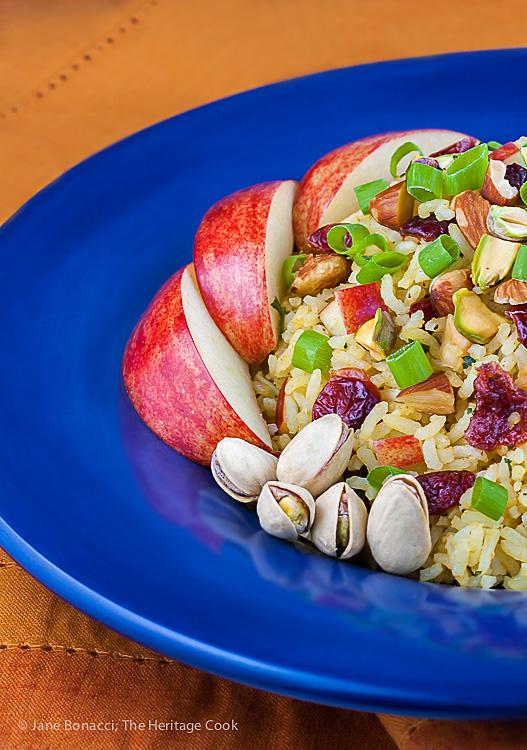 Basmati Rice-Apple Pilaf; Jane Bonacci, The Heritage Cook
