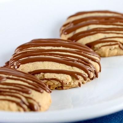 Gluten-Free Orange Sugar Cookies with Chopped Chocolate