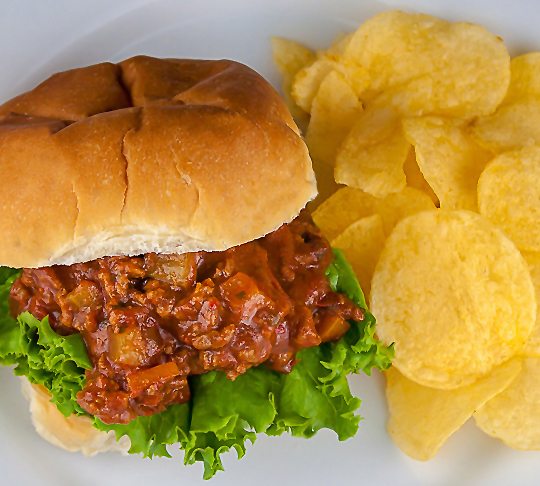 Sloppy Jose Sandwiches; Gluten Free Festive Foods for Cinco de Mayo © 2017 Jane Bonacci, The Heritage Cook