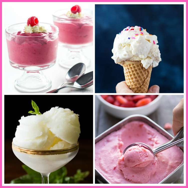 Collection of the Best Ice Cream, Sorbet, and Yogurt Recipes from Jane Bonacci, The Heritage Cook