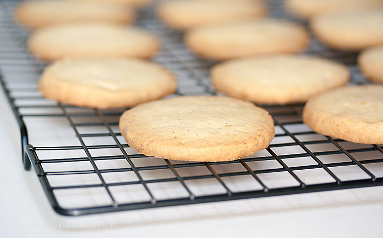 Toffee Chocolate Sugar Cookies © 2017 Jane Bonacci, The Heritage Cook