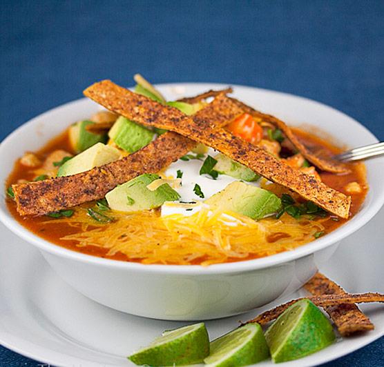 Mexican Chicken Chile Soup © 2017 Jane Bonacci, The Heritage Cook