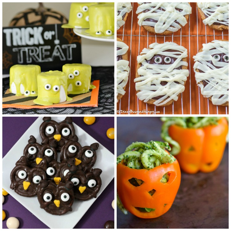 Collage 2; Spooky Halloween Treats collection; Jane Bonacci, The Heritage Cook 2017