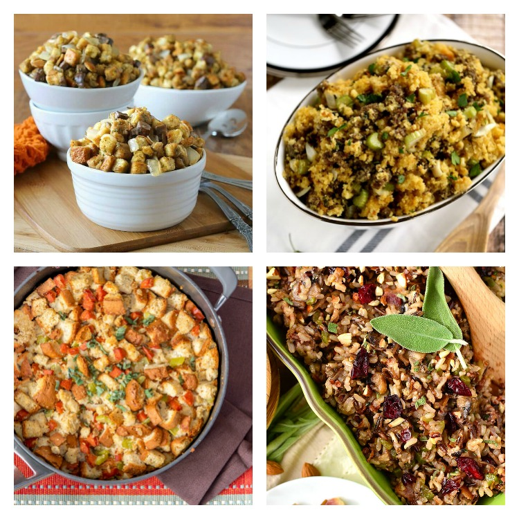 Stuffings and Dressings; Over 40 of the Best Thanksgiving Side Dishes; Jane Bonacci, The Heritage Cook