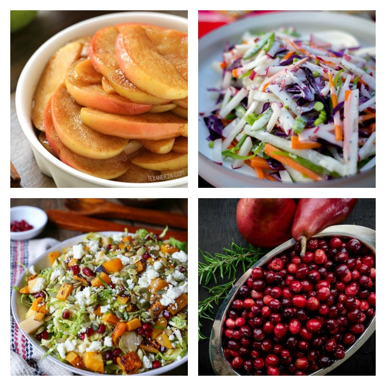 Starters, Fruits & Salads; Over 40 of the Best Thanksgiving Side Dishes; Jane Bonacci, The Heritage Cook