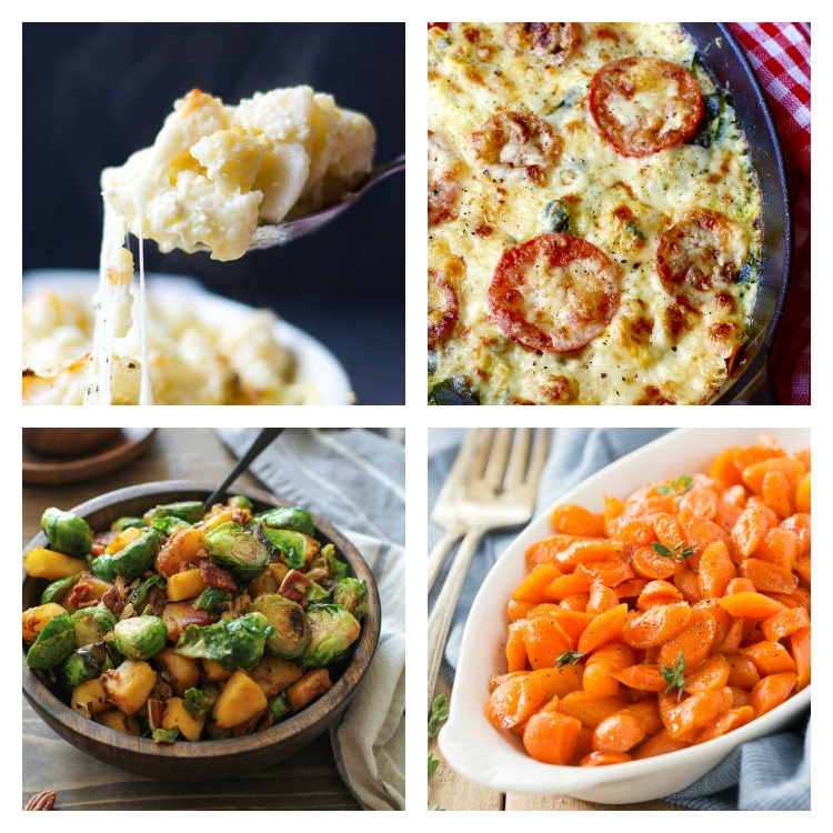 Vegetables; Over 40 of the Best Thanksgiving Side Dishes; Jane Bonacci, The Heritage Cook