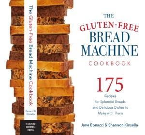 Cover of the Gluten-Free Bread Machine Cookbook by Bonacci and Kinsella