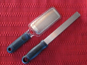 Two Microplane Graters; 2017 Holiday Gift List for Cook from The Heritage Cook; Jane Bonacci, The Heritage Cook