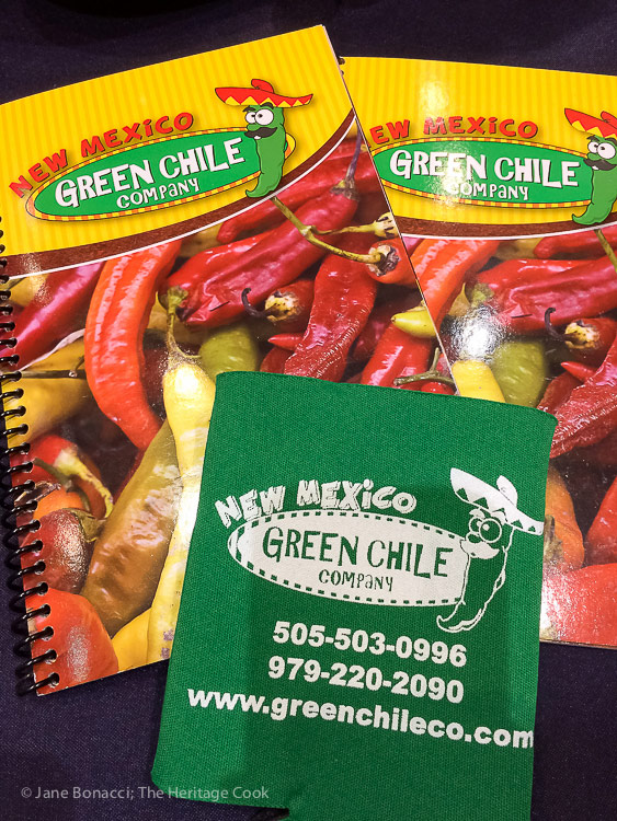 New Mexico Green Chile Company; Walking the San Francisco Winter Fancy Food Show 2018 © 2018 Jane Bonacci, The Heritage Cook