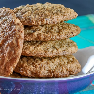 Gluten Free Oatmeal Chocolate Chip Pecan Cookies