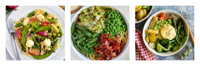 15 Favorite Springtime Meals, assembled by Jane Bonacci, The Heritage Cook