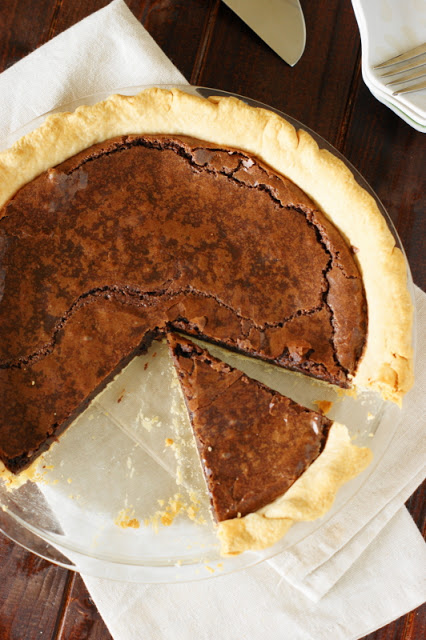 Chocolate Crack Pie; 7 Great Chocolate Desserts for Mother's Day 2018 assembled by Jane Bonacci, The Heritage Cook