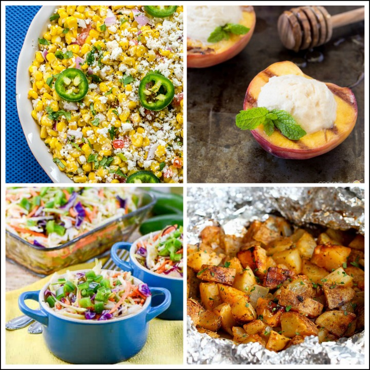 Collection of 25 Amazing BBQ Side Dishes, compiled by Jane Bonacci, The Heritage Cook 2018