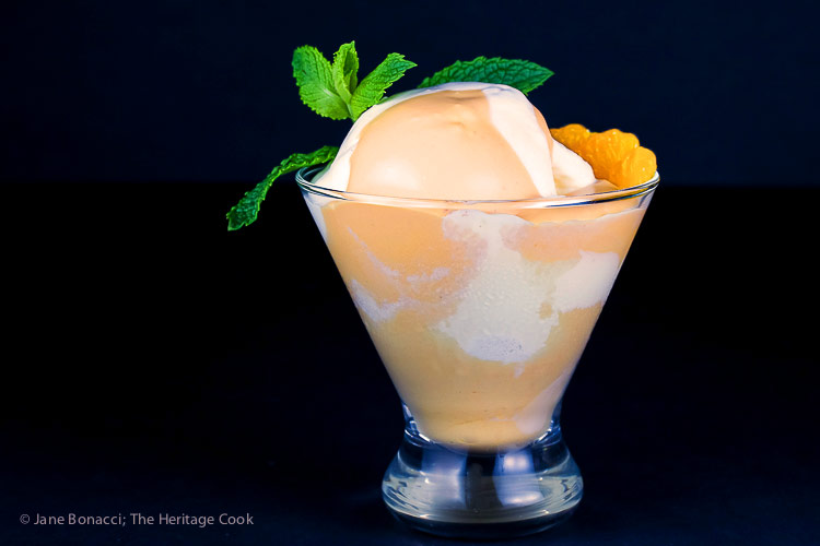Orange Creamsicle Mousse Parfaits © 2018 Jane Bonacci, The Heritage Cook