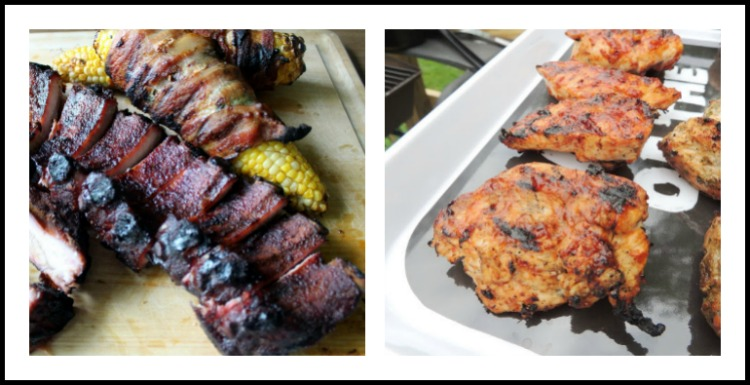 Collection of BBQ Rubs, Marinades and Sauces recipes for the 4th of July; assembled by Jane Bonacci, The Heritage Cook 2018