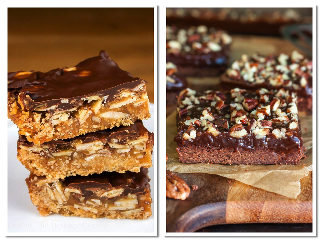 7 Sublime Chocolate Bar Cookies - collected and assembled by Jane Bonacci, The Heritage Cook