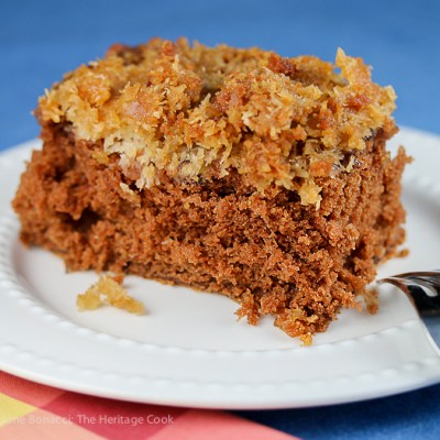 Cockeyed German Chocolate Cake (Gluten Free)