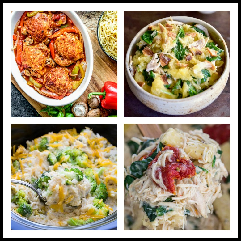 18 Comforting Chicken Dishes for Autumn; compiled by Jane Bonacci, The Heritage Cook