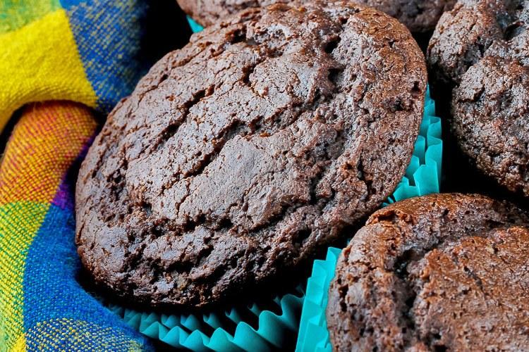 Gluten Free Chocolate Muffins © 2019 Jane Bonacci, The Heritage Cook
