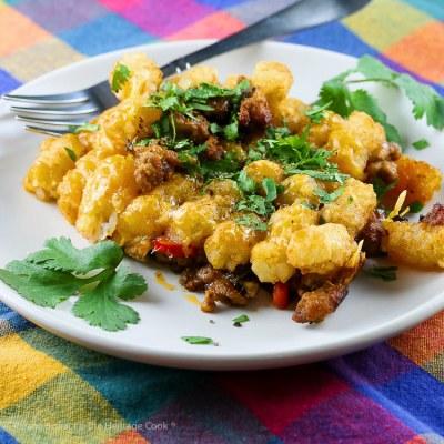 Breakfast Tater Tot Casserole (Gluten Free)