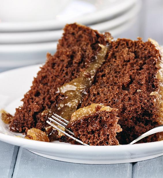 Gluten Free Dark German Chocolate Cake